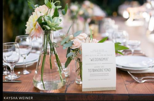 15 Wedding Table Card Ideas for Every Bride WeddingMix Blog