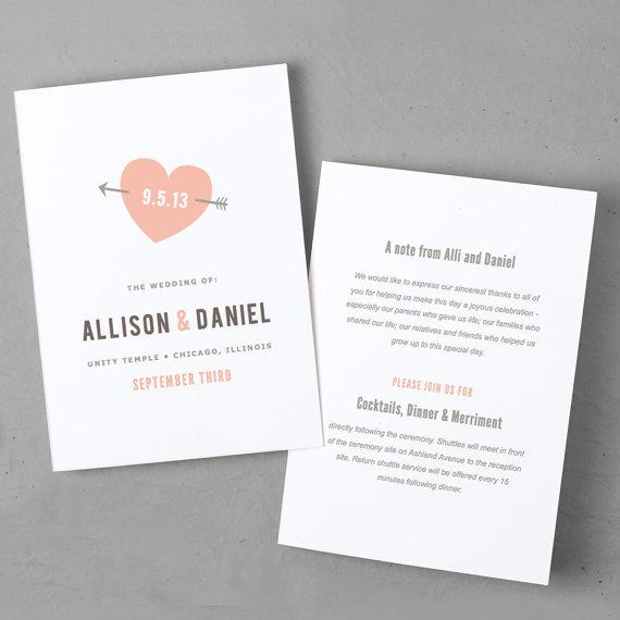 Diy Wedding Invitations Canada: 13 Etsy Wedding Invite Templates