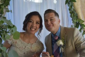 simple wedding in Downey, CA