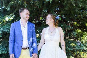 5K local wedding in Colorado