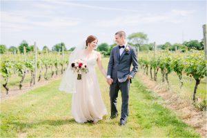 wedding at newport vineyards
