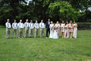 wedding in Evansville