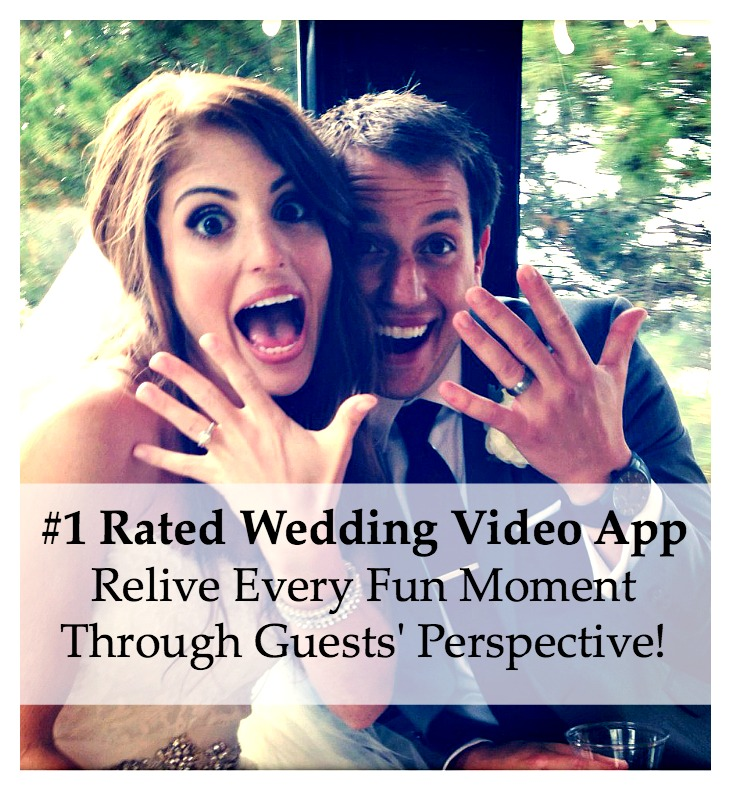 Use the @WeddingMix app to turn all your guests' photos and videos into a super fun, professionally edited affordable wedding video! Voted the highest rated wedding video app by WeddingWire & The Knot. Learn more!
