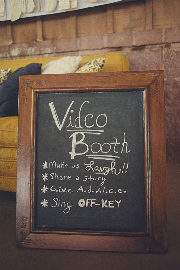video booth wedding ideas
