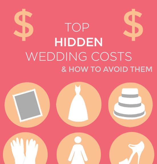 surprising wedding costs